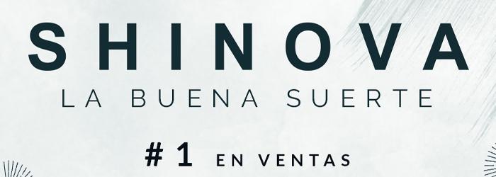 SHINOVA #1 EN VENTAS DE VINILOS Y #2 EN VENTAS DE DISCOS EN ESPAÑA CON SU NUEVO ÁLBUM «LA BUENA SUERTE»