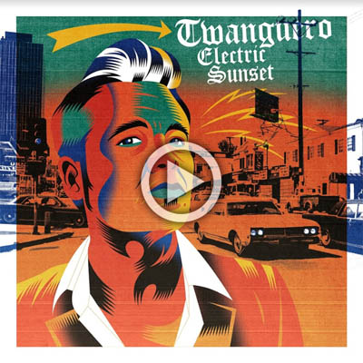 Portada Twangero Electric Sunset